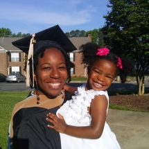 Pic Kim Renee Clark UNC Graduation