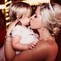 Tabitha Cavanagh with daughter