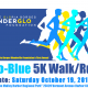 "The Gloria Borges WunderGlo Foundation 1st Annual ""Glo-Blue 5K"""